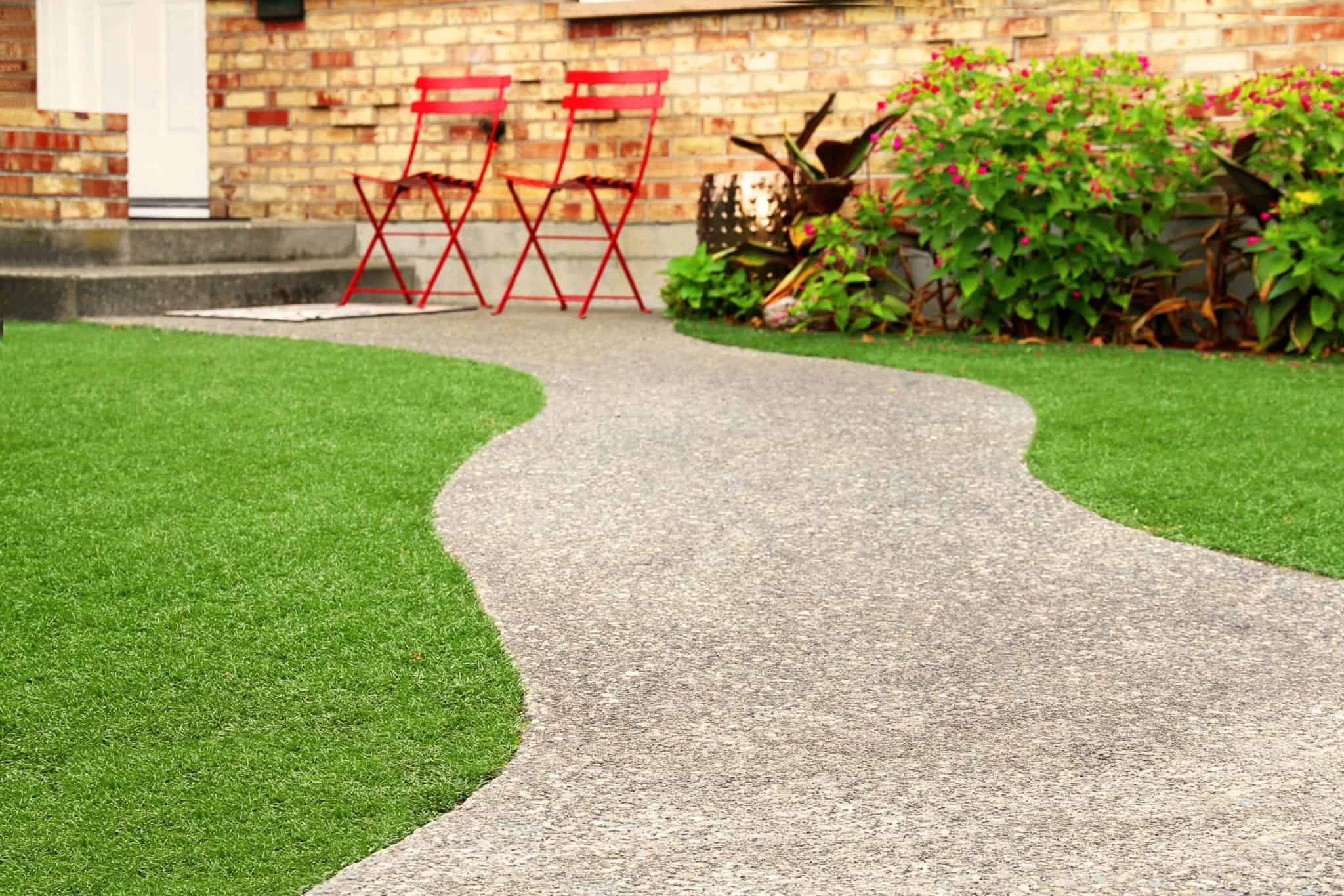 Artificial Lawn Landscaping By East Coast Turf Pros
