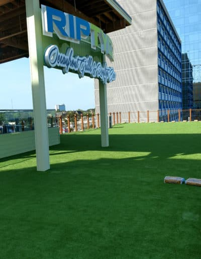 Setting Up Artificial Turf On A Roof