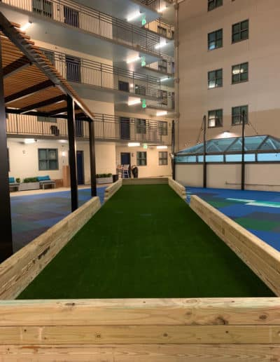 Bocce Ball Court By ECTP