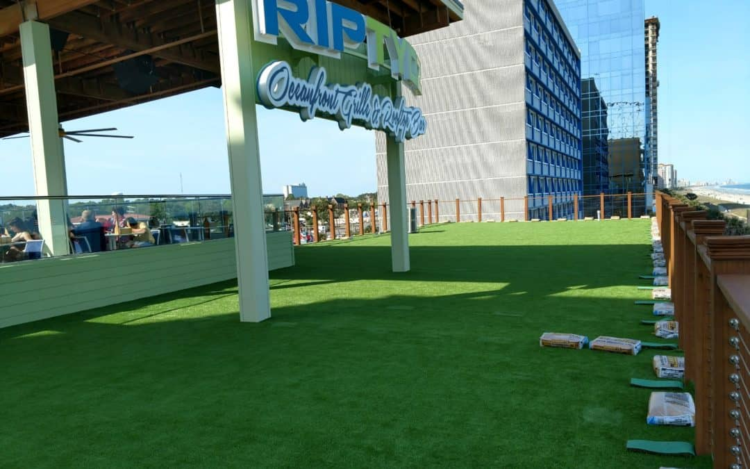 Top 5 Commercial Applications of Artificial Turf