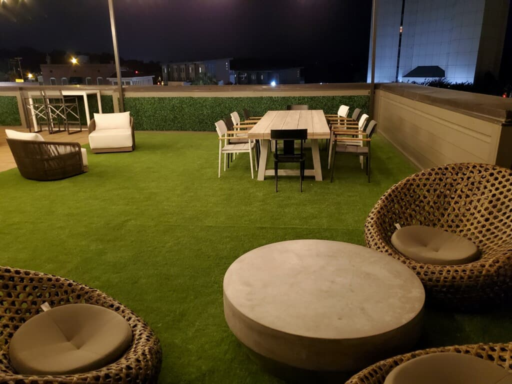 roof and patio turf