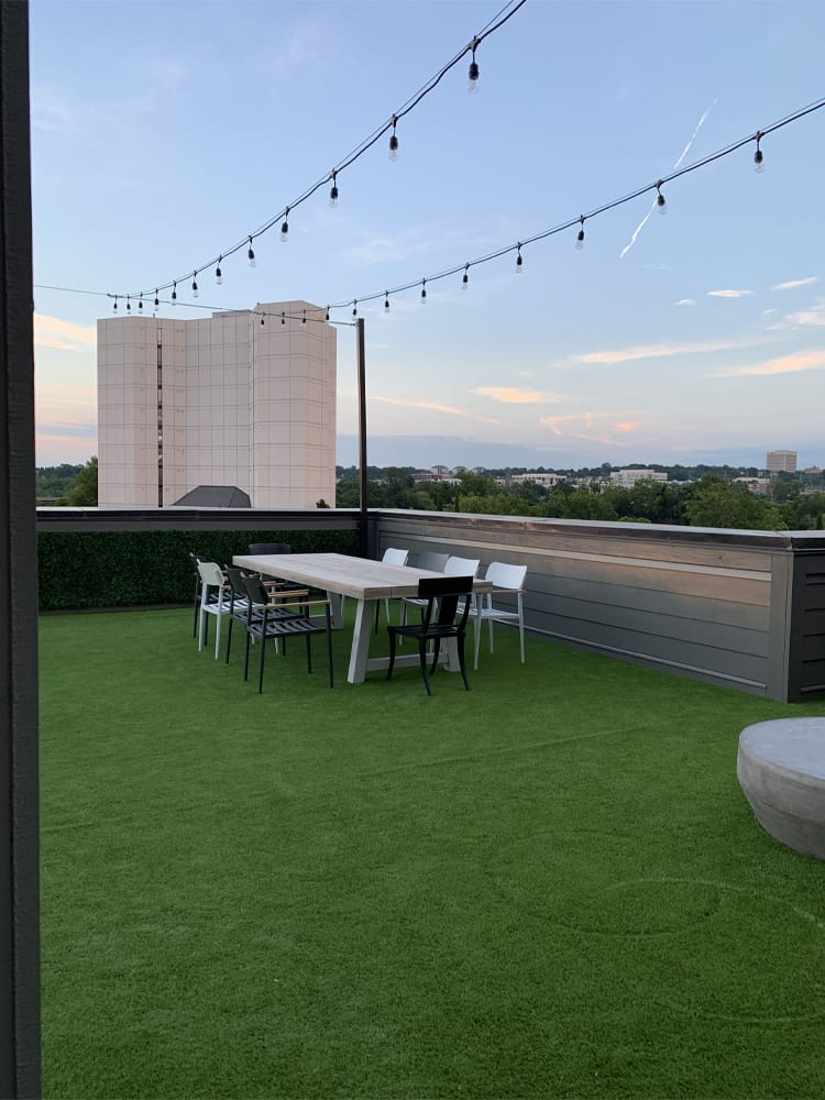 roof top turf greens